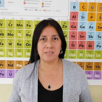 Claudia Alarcon Docente Ciencias